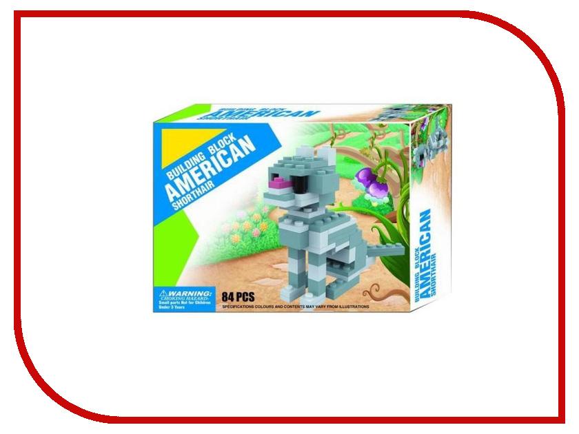 цена на Конструктор Shantou Gepai Кошка 84 дет. BG2106