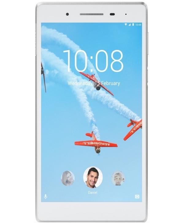 Планшет Lenovo Tab 4 TB-7504X ZA380053RU White (MediaTek MT8735B 1.3 GHz/1024Mb/16Gb/Wi-Fi/LTE/3G/Bluetooth/GPS/Cam/7.0/1280x720/Android)