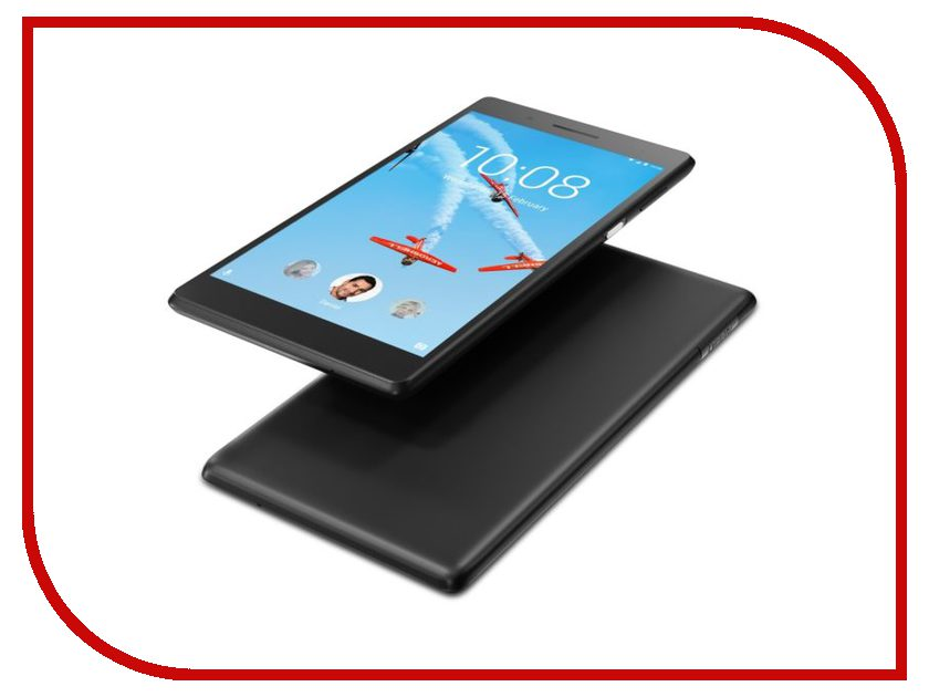 Планшет Lenovo Tab 4 TB-7504X ZA380040RU Black (MediaTek MT8735B 1.3 GHz/2048Mb/16Gb/GPS/3G/LTE/Wi-Fi/Bluetooth/Cam/7.0/1280x720/Android) планшет lenovo tab 4 tb 7504x 7 16gb white wi fi bluetooth 3g lte android za380087ru