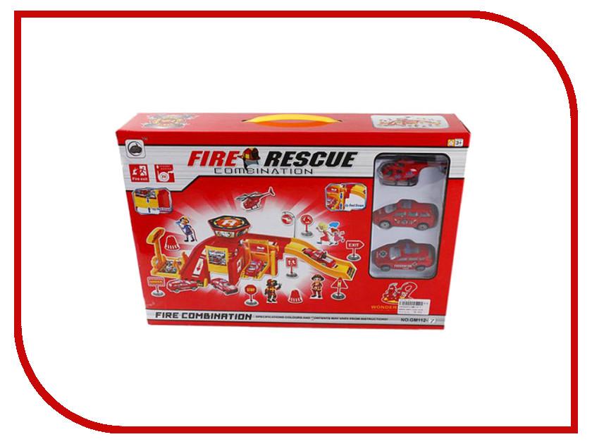 Автотрек Shantou Gepai Парковка Пожарная служба GM112-7