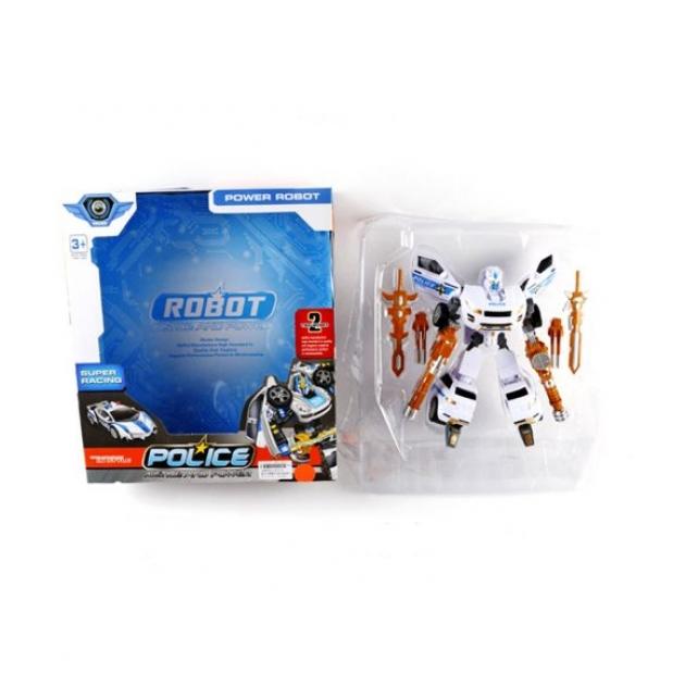 цена на Игрушка Shantou Gepai / Наша игрушка Трансформер-машина Полиция L015-8