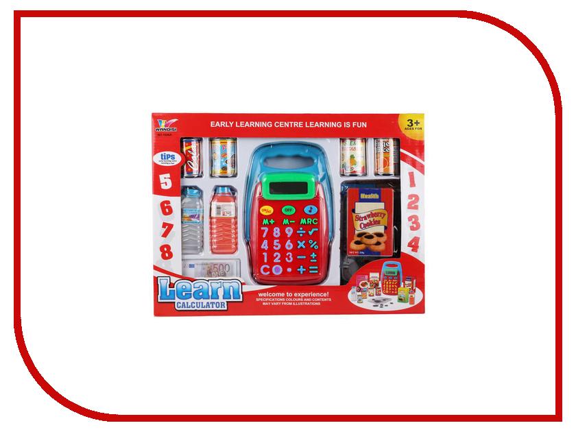 Игра Shantou Gepai Калькулятор с набором продуктов 1608A shantou gepai игрушка пластм печь микроволновая с набором продуктов shantou gepai