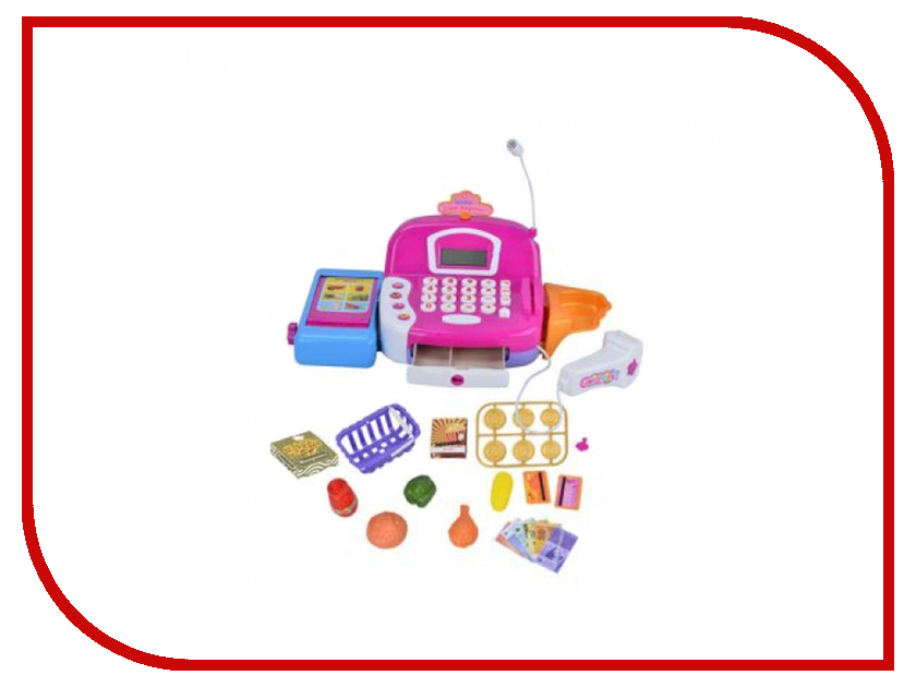 Игра Shantou Gepai Касса Радочка 66030 shantou gepai игрушка пластм касса электронная продукты сканер shantou gepai