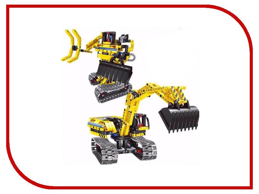 Конструктор Shantou Gepai Экскаватор-робот 342 дет. 6801 трансформер робот 8086 shantou gepai