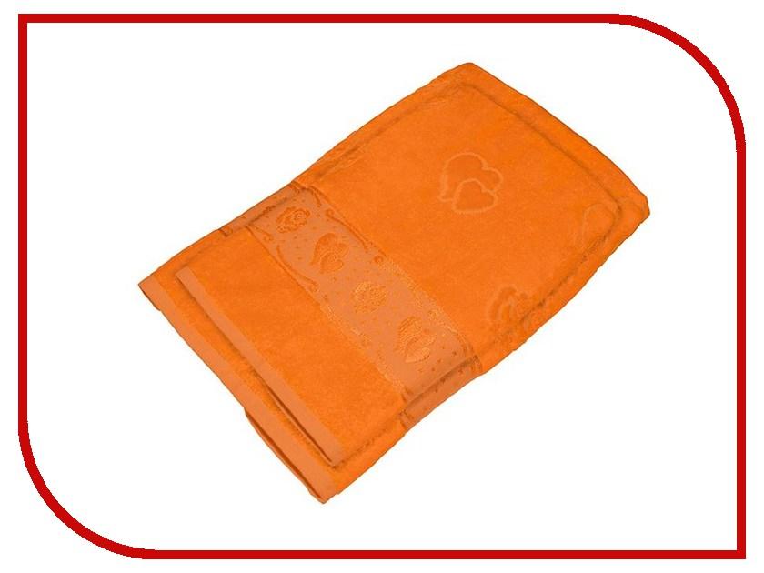 Полотенце Aisha Home 50x90/70x140 2шт Orange УНП-018-04-2