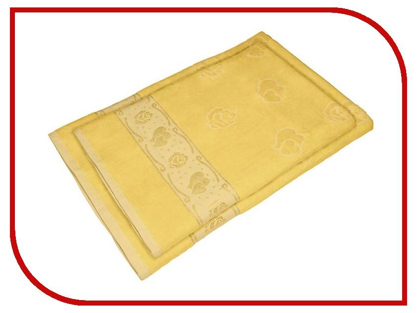 Полотенце Aisha Home 50x90/70x140 2шт Yellow УНП-018-03-2 полотенце aisha home 50x90 70x140 3шт blue унп 018 05 3