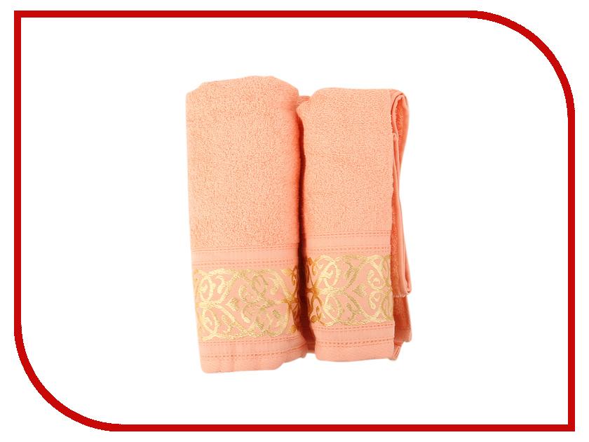 Полотенце Aisha Home 50x85/70x135 2шт Peach НМП-030к полотенце aisha home уп 001 05 50x85 lilac