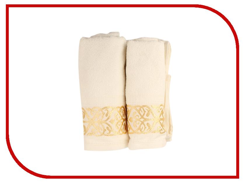 Полотенце Aisha Home 50x85/70x135 2шт White НМП-028к полотенце aisha home уп 001 05 50x85 lilac