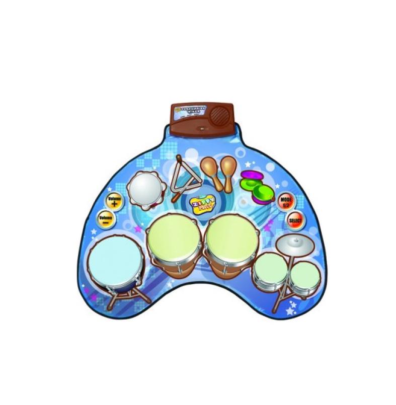 Музыкальный коврик Shantou Gepai / Наша игрушка Веселый барабанщик 631231