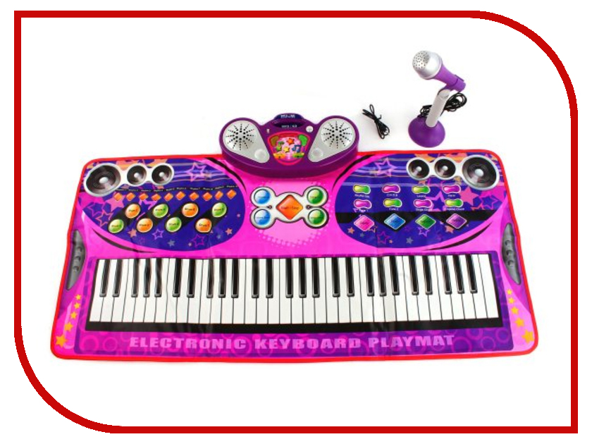 купить Танцевальный коврик Shantou Gepai Волшебное пианино 631229 по цене 1473 рублей