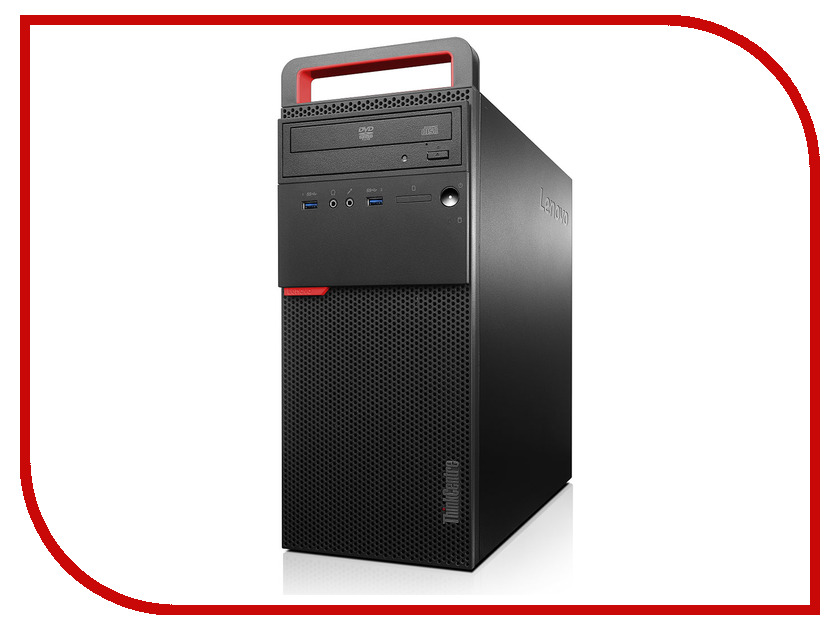 Настольный компьютер Lenovo ThinkCentre M700 MT Black 10GRS09700 (Intel Core i3-6100 3.7 GHz/4096Mb/1000Gb/DVD-RW/Intel HD Graphics/DOS) настольный компьютер other ibm m57 q35 q8200 4g 250g dvd