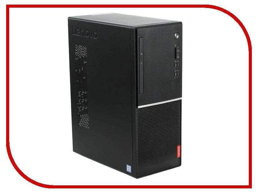 Настольный компьютер Lenovo V520-15IKL MT Black 10NK0054RU (Intel Core i3-7100 3.9 GHz/4096Mb/1000Gb/DVD-RW/Intel HD Graphics/Windows 10 Home 64-bit) компьютер home 310 intel core i3 7100 3 9ghz 8gb 500gb max size vga 371mm win10h sl 64 bit