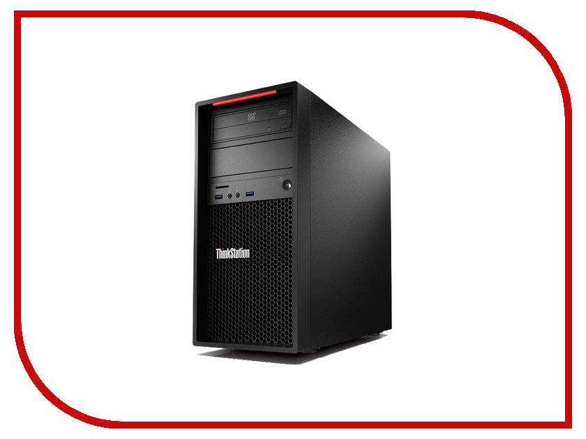 Настольный компьютер Lenovo ThinkStation P320 MT Black 30BH0009RU (Intel Core i7-7700 3.6 GHz/16384Mb/256Gb SSD/DVD-RW/nVidia Quadro P600 2048Mb/Windows 10 Pro 64-bit) настольный компьютер other ibm m57 q35 q8200 4g 250g dvd
