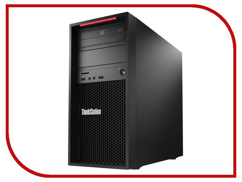 Фото Настольный компьютер Lenovo ThinkStation P320 MT Black 30BH0003RU (Intel Core i7-7700 3.6 GHz/8192Mb/1000Gb/DVD-RW/Intel HD Graphics/Windows 10 Pro 64-bit)