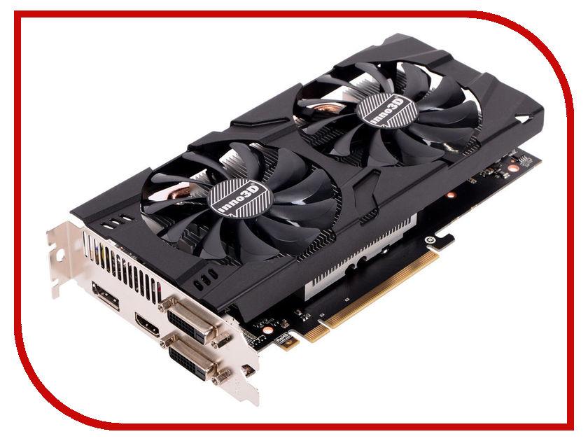 Видеокарта Inno3D GeForce GTX 1060 X2 1506Mhz PCI-E 3.0 6144Mb 8000Mhz 192 bit DVI HDMI HDCP N106F-5SDN-N5GS видеокарта 6144mb msi geforce gtx 1060 gaming x 6g pci e 192bit gddr5 dvi hdmi dp hdcp retail
