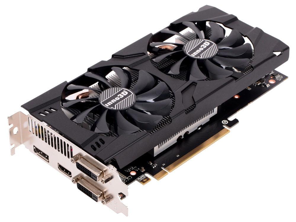 Видеокарта Inno3D GeForce GTX 1060 X2 1506Mhz PCI-E 3.0 6144Mb 8000Mhz 192 bit DVI HDMI HDCP N106F-5SDN-N5GS видеокарта inno3d geforce gtx 1050 2048mb twin x2 n1050 1ddv e5cm dvi d hdmi dp ret