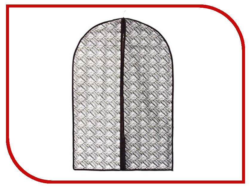 цены Аксессуар Чехол для одежды Vetta Плетение 60x90cm 457-376