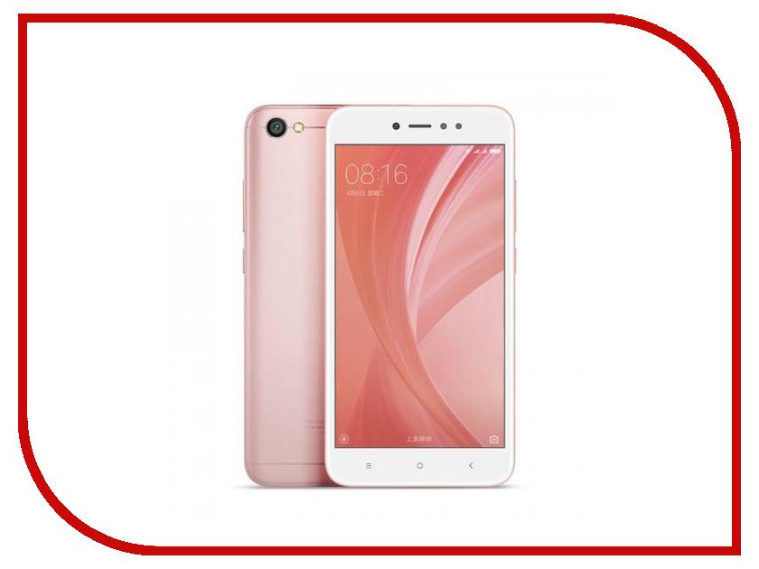 Сотовый телефон Xiaomi Redmi Note 5A 2Gb RAM 16Gb Rose Gold сотовый телефон xiaomi redmi note 5a prime 3gb ram 32gb rose gold