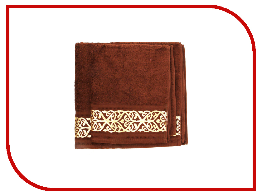 Полотенце Aisha Home 50x85/70x135 2шт Dark Coffee НМП-027 полотенце aisha home уп 001 05 50x85 lilac