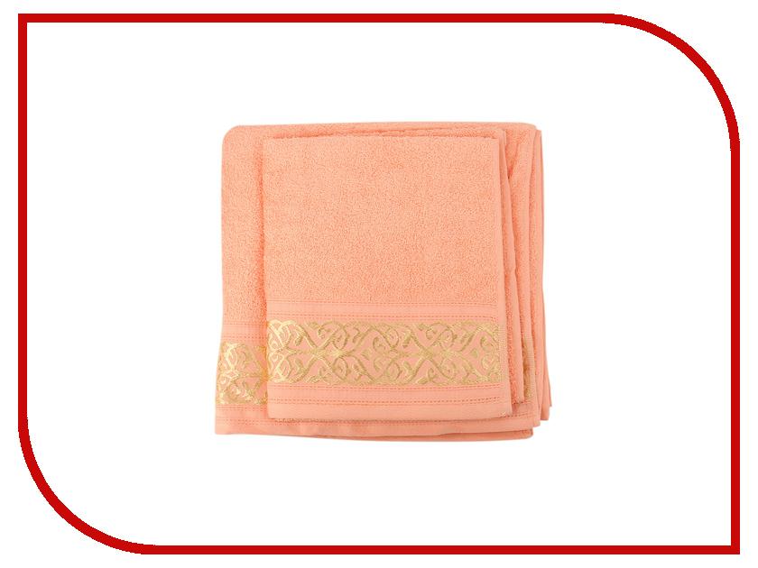 Полотенце Aisha Home 50x85/70x135 2шт Peach НМП-030 утятница нмп