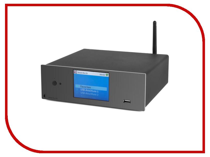 Сетевой аудио проигрыватель Pro-Ject Stream Box DS Black сетевой аудио проигрыватель marantz na8005 black