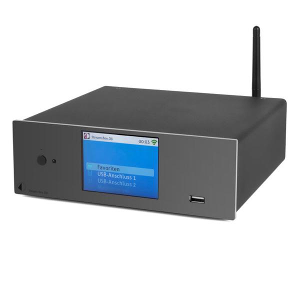 Сетевой аудио проигрыватель Pro-Ject Stream Box DS Black стоимость