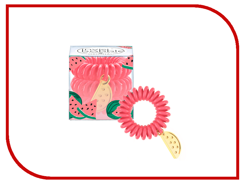 Резинка для волос Invisibobble Tutti Frutti What a Melon 3 штуки tutti frutti smart skin чехол для samsung tab 3 8 0 white