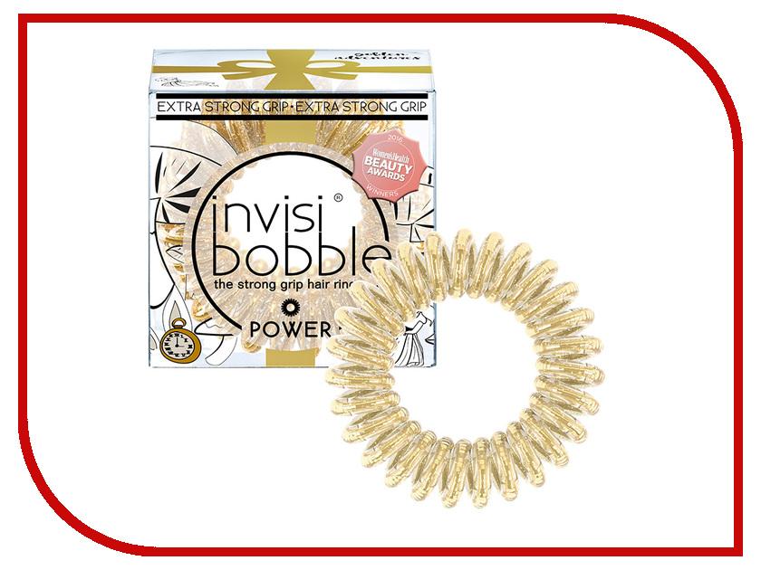 Резинка для волос Invisibobble Power Golden 3 штуки