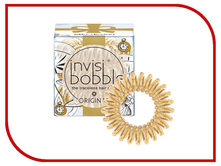 Резинка для волос Invisibobble Original Golden Adventure 3 штуки invisibobble резинка для волос бежевого цвета original queen of the jungle 3 шт резинка для волос бежевого цвета original queen of the jungle 3 шт 3 шт уп