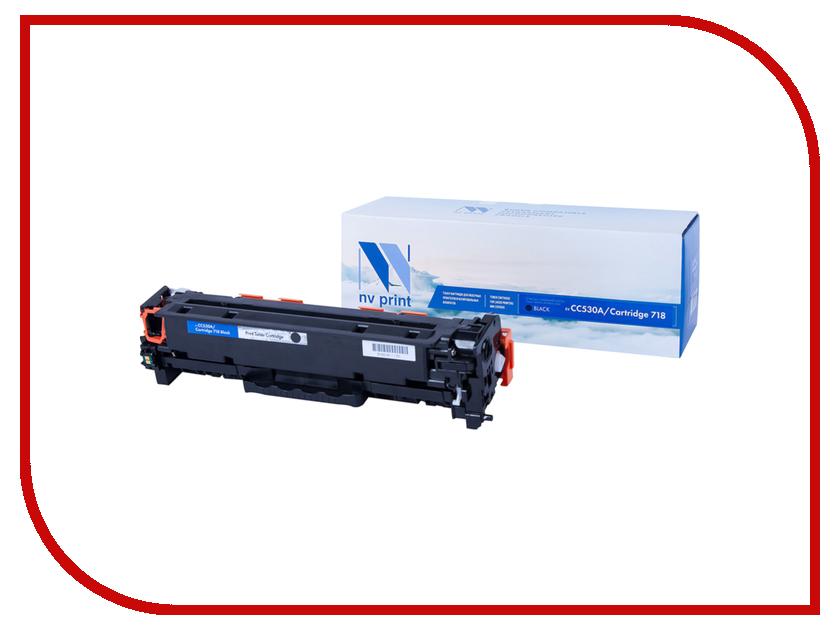 Картридж NV Print Black для HP LaserJet Color MFP-CM2320/CP2025/i-SENSYS LBP-7200C/MF8330C/8350C 3500k NV-CC530A-718Bk картридж nv print ce505x cf280x для laserjet pro m401d m401dn m401dw m401a m401dne mfp m425dw m425dn p2055 p2055d p2055dn p2055d