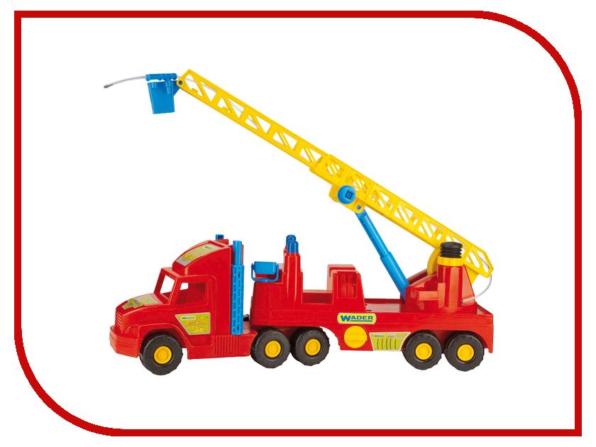 Игрушка Wader Super Truck Пожарная 36570 машины wader автомобиль констрак полиция