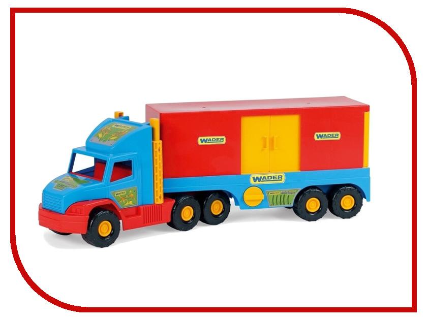 Машина Wader Super Truck Фургон 36510 машина wader super tech truck с бульдозером 36720