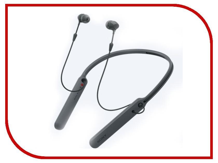 Sony WI-C400 Black sony sony wi c400 красный беспроводная стерео гарнитура