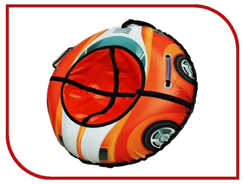 Тюбинг RT Машинка круглая 105см Orange