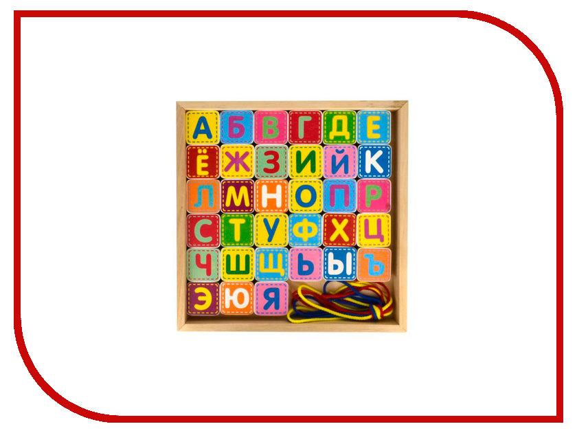 Игрушка Alatoys Шнуровка азбука КША3311