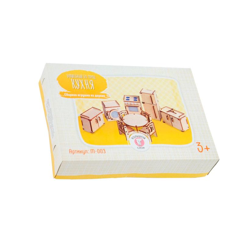 Сборная модель Кухня для куклы Большой слон М-003