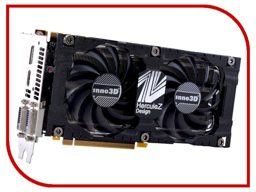 Видеокарта Inno3D GeForce GTX 1070 Twin X2 V3 1506Mhz PCI-E 3.0 8192Mb 8000Mhz 256 bit DP DVI HDMI HDCP N1070-2SDV-P5DS