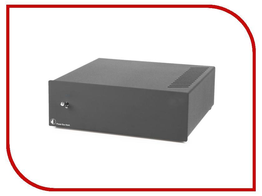Аксессуар Блок питания Pro-Ject Power Box Maia Black купить шнур power pro