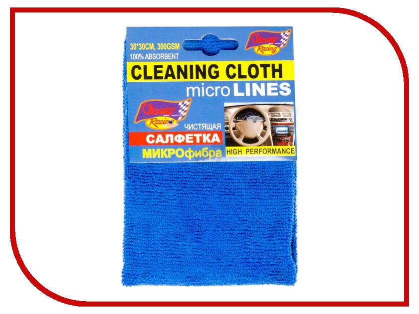 Салфетка-микрофибра Cleaner Racing 30x30cm Микс MF-0.5 / 36334