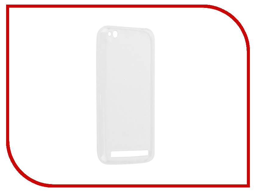 Аксессуар Чехол для Xiaomi Redmi 5A Zibelino Ultra Thin Case White ZUTC-XMI-RDM-5A-WHT аксессуар чехол для sony xperia xz2 zibelino ultra thin case white zutc son xz2 wht