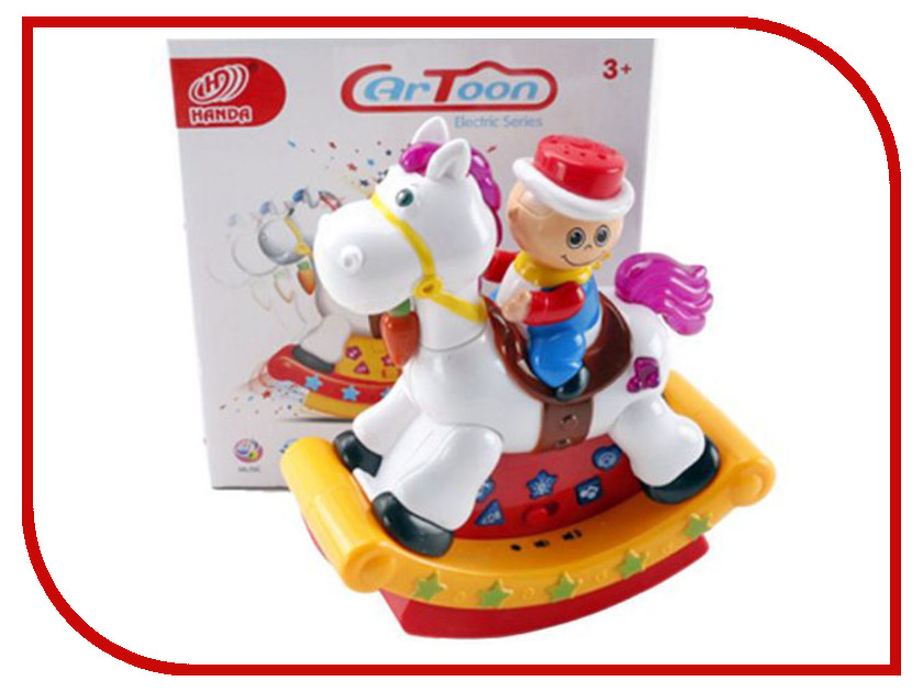 Игрушка Shantou Gepai Наездник - качалка HD9018 спортивный инвентарь shantou gepai дартс детский с липучкой