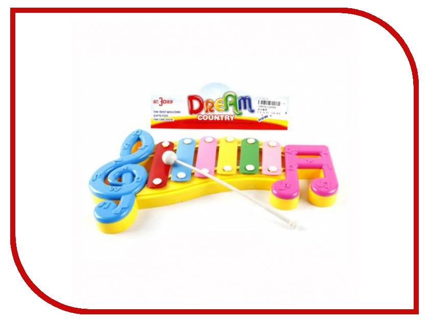 Детский музыкальный инструмент Shantou Gepai Ксилофон Веселые нотки 20099 детский музыкальный инструмент shantou gepai аккордеон 63717