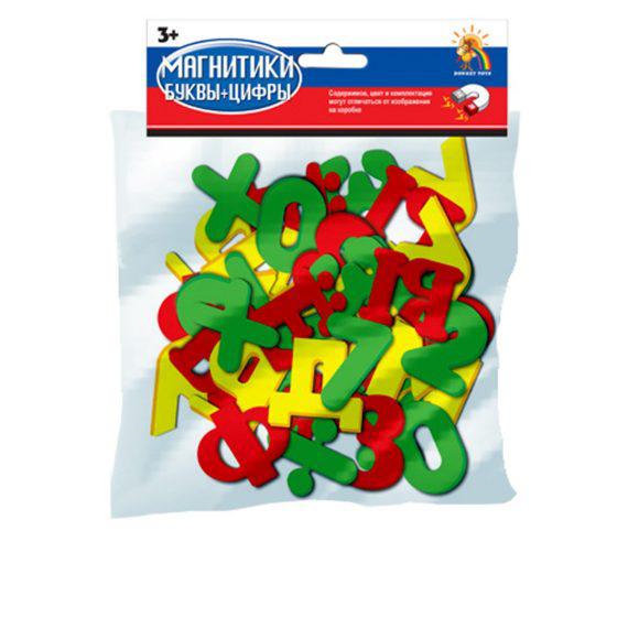 Магнитики буквы и цифры Shantou Gepai / Наша игрушка R63 steffen schraut pубашка