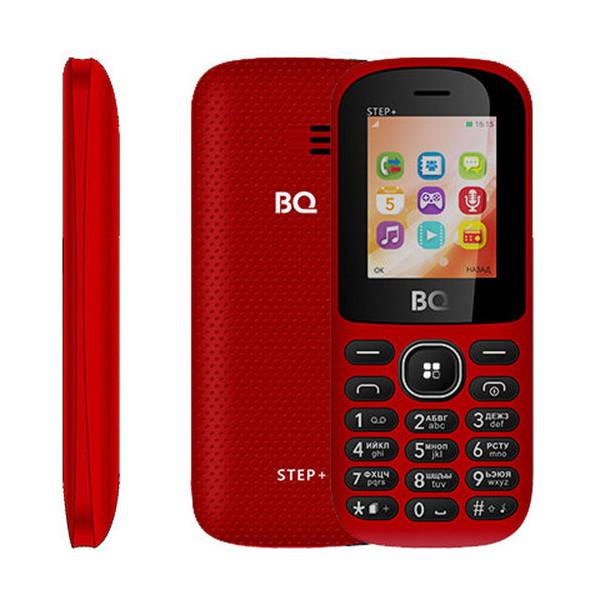 Сотовый телефон BQ 1807 Step+ Red сотовый телефон bq 2433 dream duo red