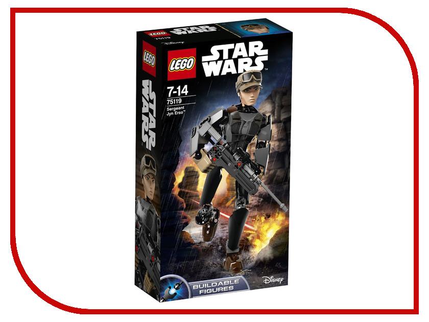 Конструктор Lego Star Wars Сержант Джин Эрсо 75119 сержант полосатый серии 1 26