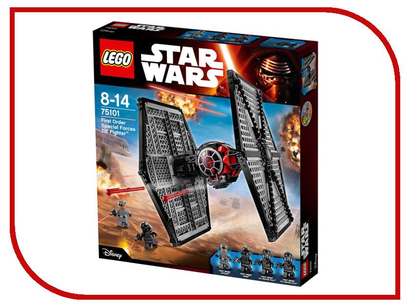 Конструктор Lego Star Wars Истребитель особых войск Первого Ордена 75101 lego lego star wars 75078 транспорт имперских войск