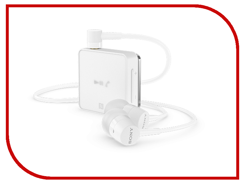 Sony SBH24 White bluetooth гарнитура sony sbh24 синий