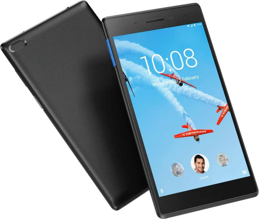 Планшет Lenovo Tab 7 Essentials TB-7304F ZA300173RU (MediaTek MT8167D 1.3 GHz/1024Mb/8Gb/GPS/Wi-Fi/Bluetooth/Cam/7.0/1024x600/Android) цены онлайн