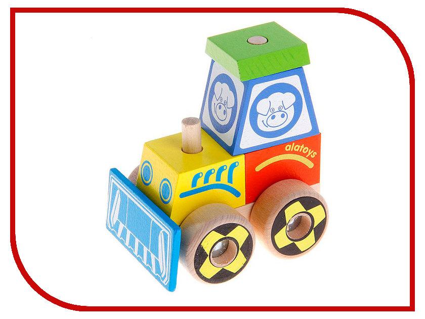 Игрушка Alatoys Трактор КТР02