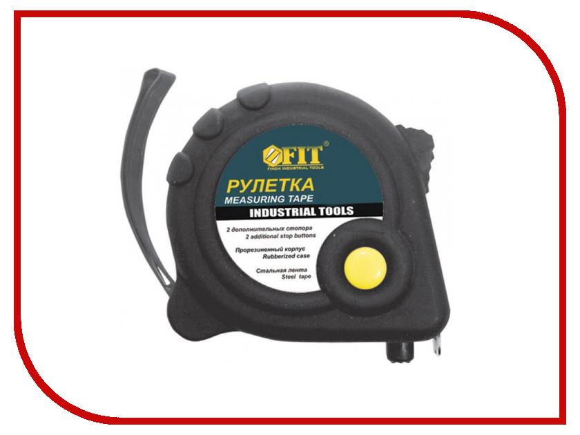 Рулетка FIT Универсал 5m x 19mm 17225 рулетка fit профи 5m x 19mm black yellow 17425